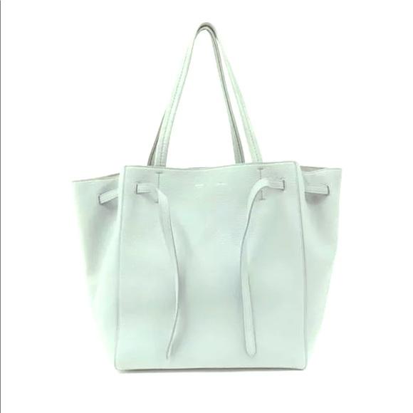 81c27ebbbc9 Celine Bags   Brand New White Cabas Phantom Grainy Bag   Poshmark